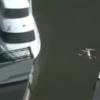 事故渋滞を映していたテレビのカメラがとらえた衝撃映像!