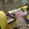 木材を削ってお手製のドライバー作り!高速で削れる木が気持ちイイ!!