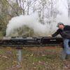 サイズが小さくても圧巻の馬力!!3/4インチスケールの蒸気機関車!
