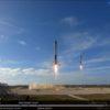 SpaceXの「ファルコン・ヘビー」打ち上げの瞬間とサイドブースターの着陸に感動!!火星移住への第一歩!