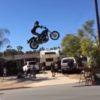 クレイジーすぎるバイクジャンプスタント!手作りのジャンプ台にハーレーで挑む!!