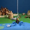 寝室の机で撮影されたストップモーションアニメーション!滑らかな動きに驚愕!