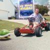 マリオがマリオカートを盗まれた!?壊れた車の代わりにマリオカートを購入した男の悲劇・・・。