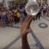 GoProで撮影された映像がスゴイ!ジャグラー目線の水晶ジャグリング!!
