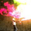 カラフルな炎!使用する薬品によって色が変わる不思議な炎実験!