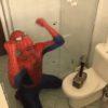 アベンジャーズのマイティ・ソーにいじめられるスパイダーマン!