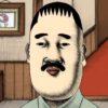 シュールなアニメ第4弾!スケボーに乗って登場してくる名探偵の超推理力!
