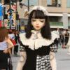 顔が人形なファッションモデル!?動く球体関節人形と呼ばれる「橋本ルル」が軽くホラー・・・。