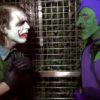 バットマンやスパイダーマンのヒール「ジョーカー」と「グリーンゴブリン」が街中でケンカ!歩行者の冷ややかな目線が痛い・・・。