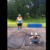 ブランコ技かと思いきやダイエット!?海外で流行ったブランコエクササイズに挑戦する2人の女性が・・・。
