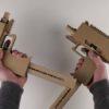 DIYここに極まれり!ダンボールで作った「マイクロUZI」の完成度が高すぎる!